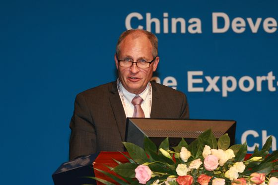 Mr. Michael Stanley delivered a speech on the keynote session of CHINA MINING 2017